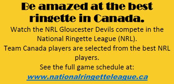 National Ringette League Season Passes for sale – $50