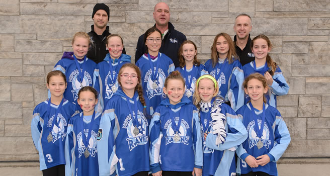 2014 Pickering Tournament Petite Provincial Hornsby Silver Medal