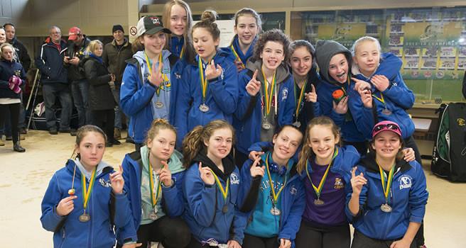 2015 GCRA Tournament Tween AA Silver Medal