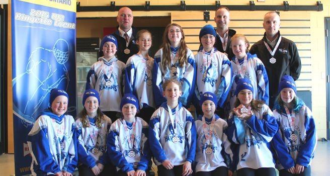 2015 Provincials U12 Petite Hornsby Silver Medal