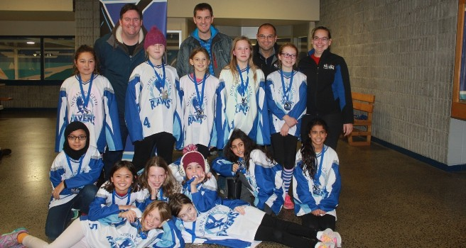 2015 Nepean Ringette Tournament Petite (Groulx) Silver Medal
